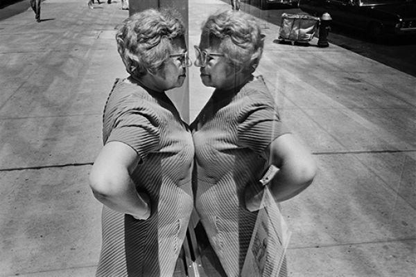 Woman looking at herself in store window, New York City, 1969 © Richard Kalvar / Magnum Photos