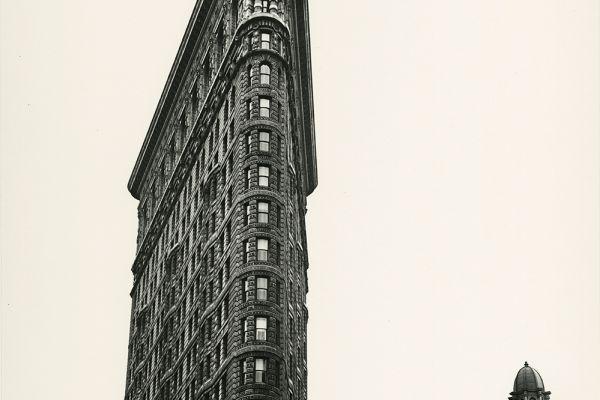 Flatiron Building, Madison Square, New York, 1938, © Berenice Abbott/Commerce Graphics/Getty Images. Courtesy of Howard Greenberg Gallery, New York